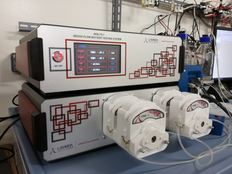 Redox-flow battery testing system : BATTERY TESTERS